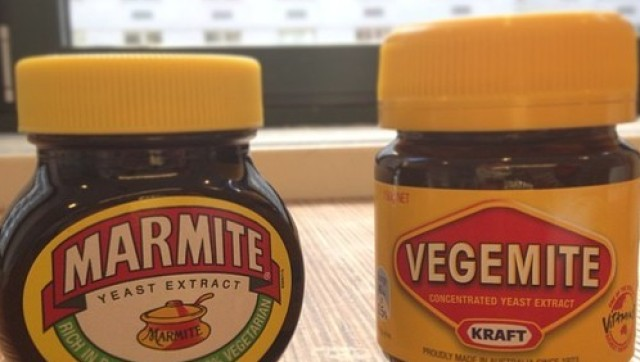 vegemite vs marmite taste test can you tell the