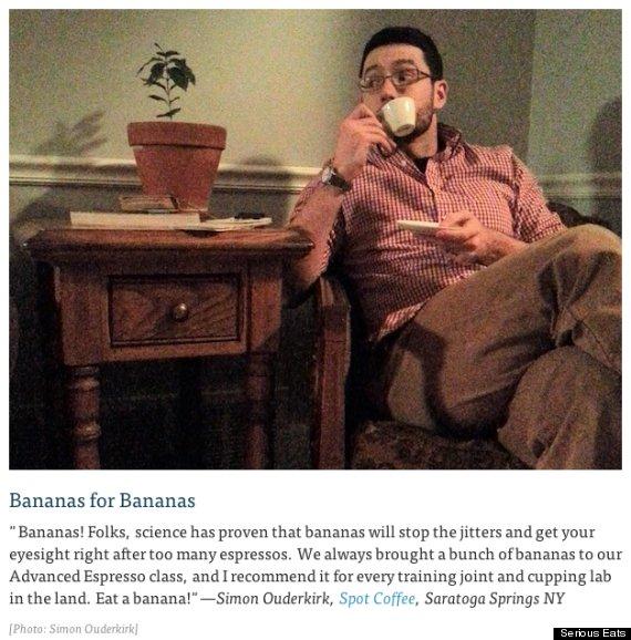 banana caffeine headache