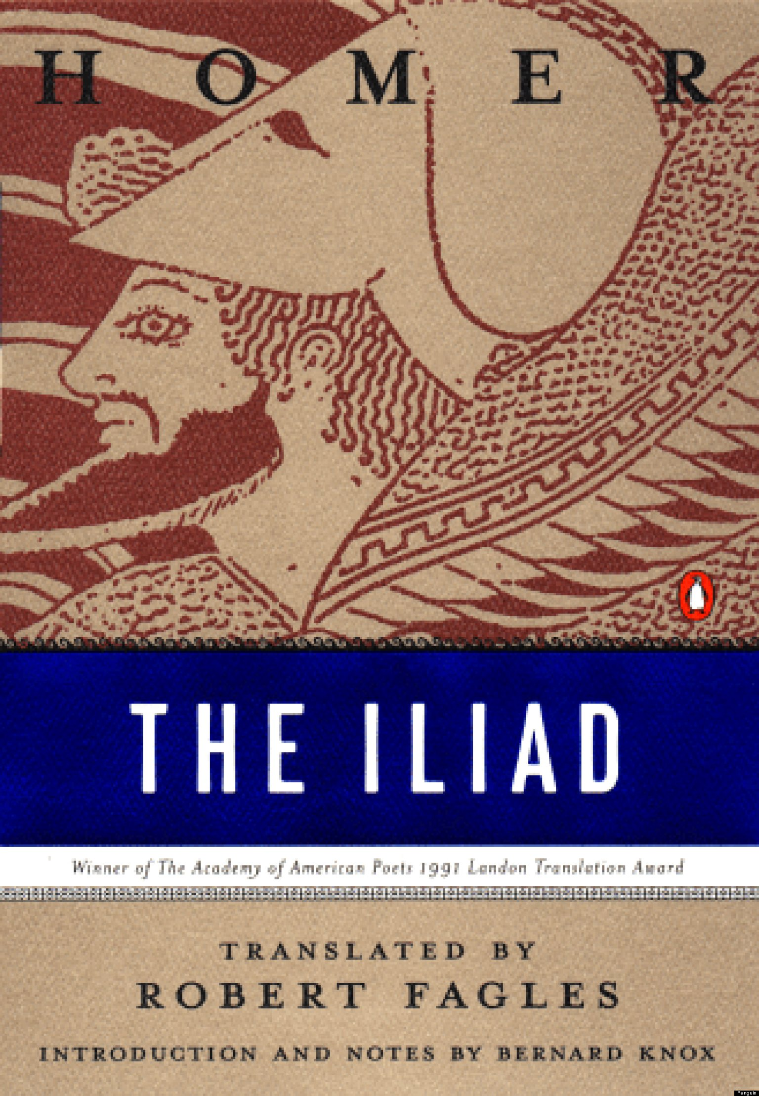 the iliad by homer book review