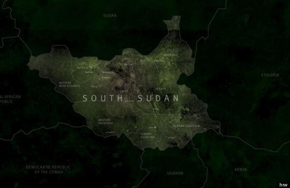 sudan mappa