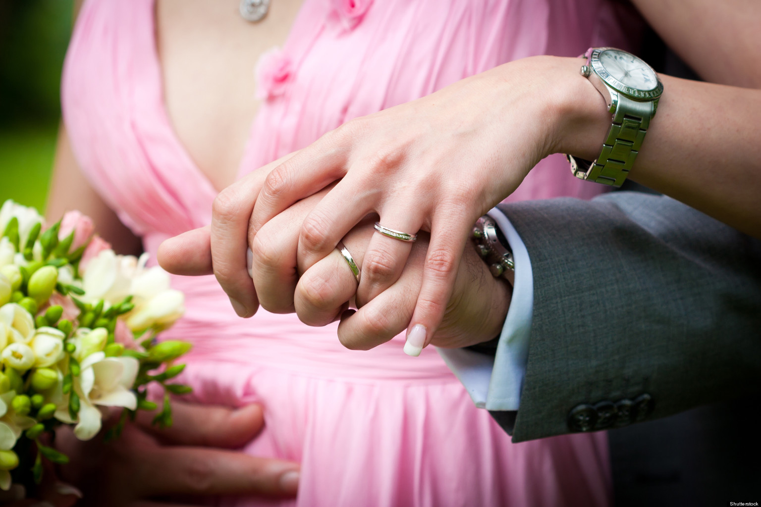 An Ironic, Low-Key, Unconventional Wedding Is Still A Wedding | HuffPost