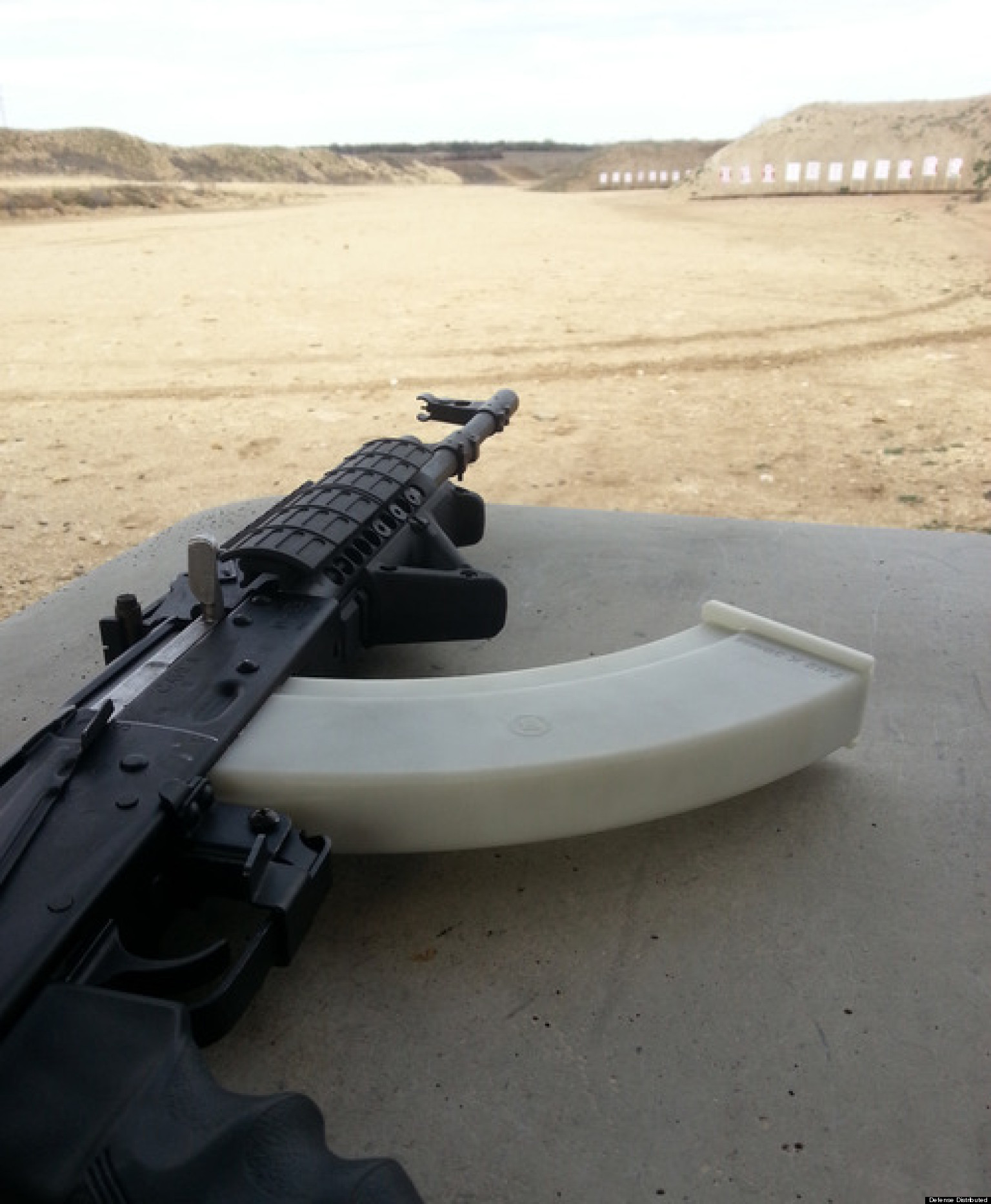 Defense Distributed's 'Feinstein AK Magazine' Named After