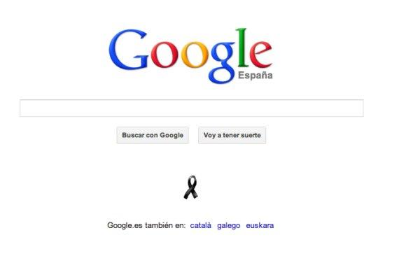 google lazo negro