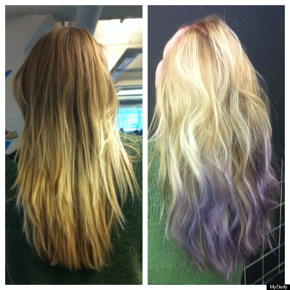 This Week You Should Try The Colour Rinse At Bleach Hair Salon