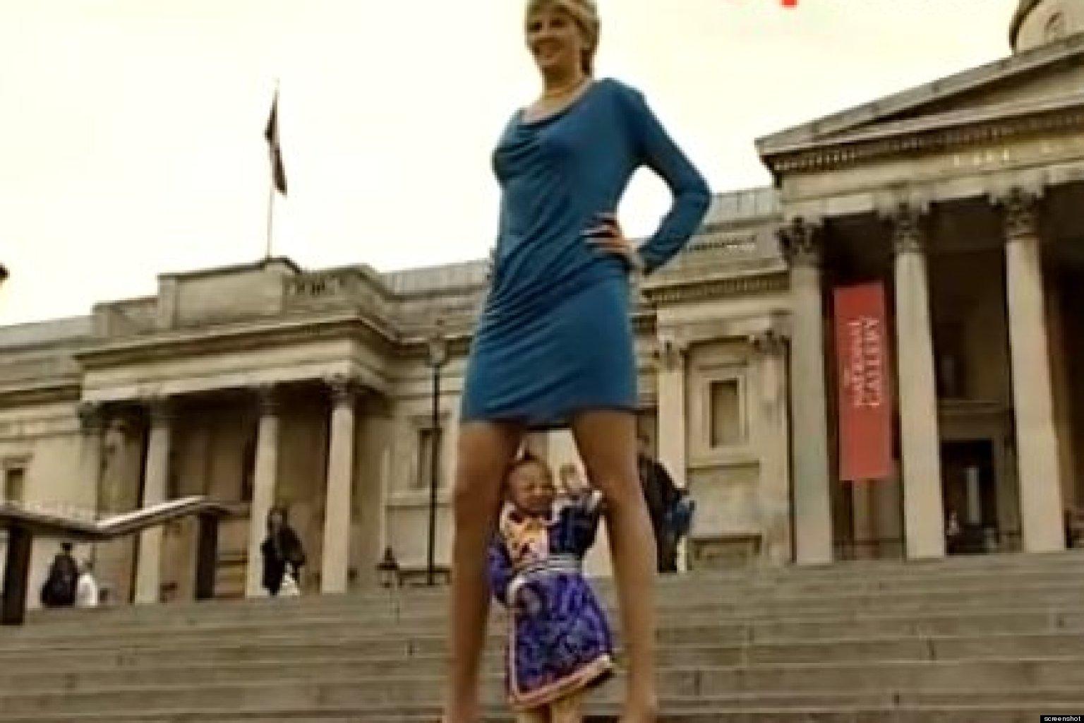Svetlana Pankratova, Woman With The World's Longest Legs ...