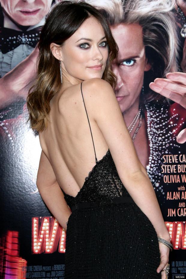 Backless Dress Olivia Wilde