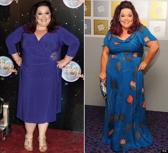 Lisa Riley Shows Off Weight Loss At Tric Awards Pics Huffpost Uk