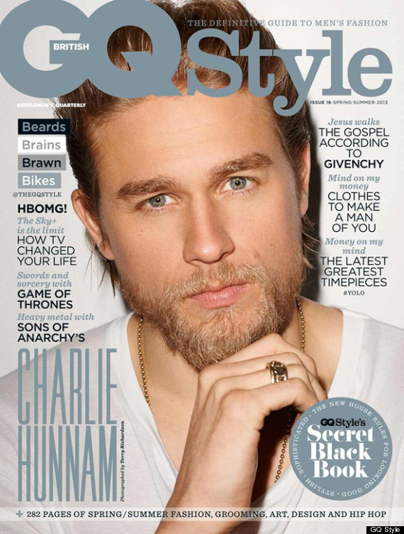 charlie hunnman gq cover