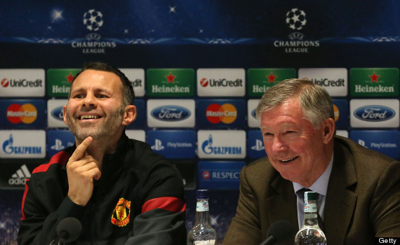 ryan giggs sir alex ferguson
