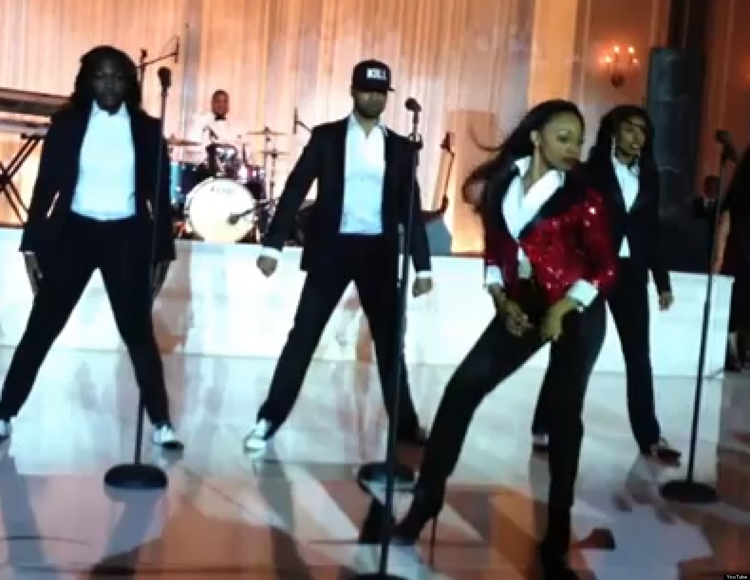 Beyonce Wedding Dance Bride Performs Medley At Reception Video Huffpost