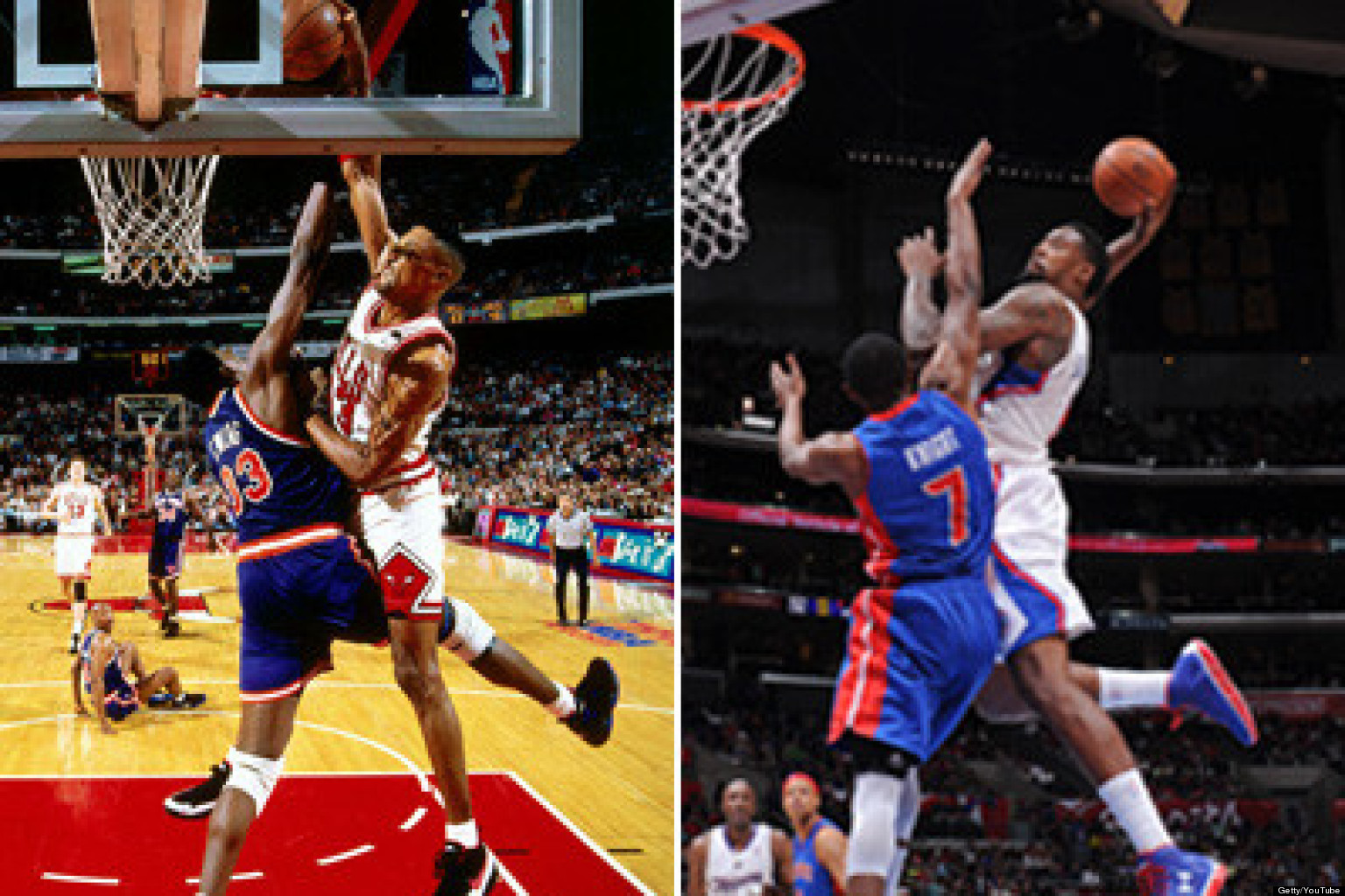 DeAndre Jordan Dunk Over Brandon Knight Joins Shawn Kemps Lister Blister Among Epic Posterizations
