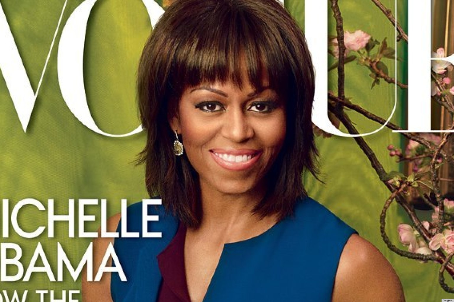 Michelle Obama's Vogue Cover For April Exceeded Our ... K Michelle 2013 Photoshoot