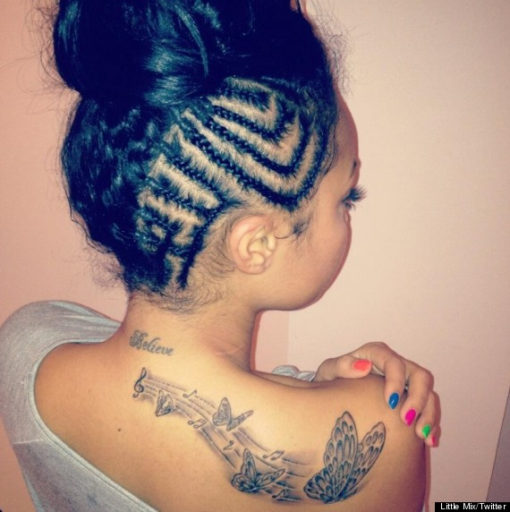 little mix leigh anne pinnock new tattoo