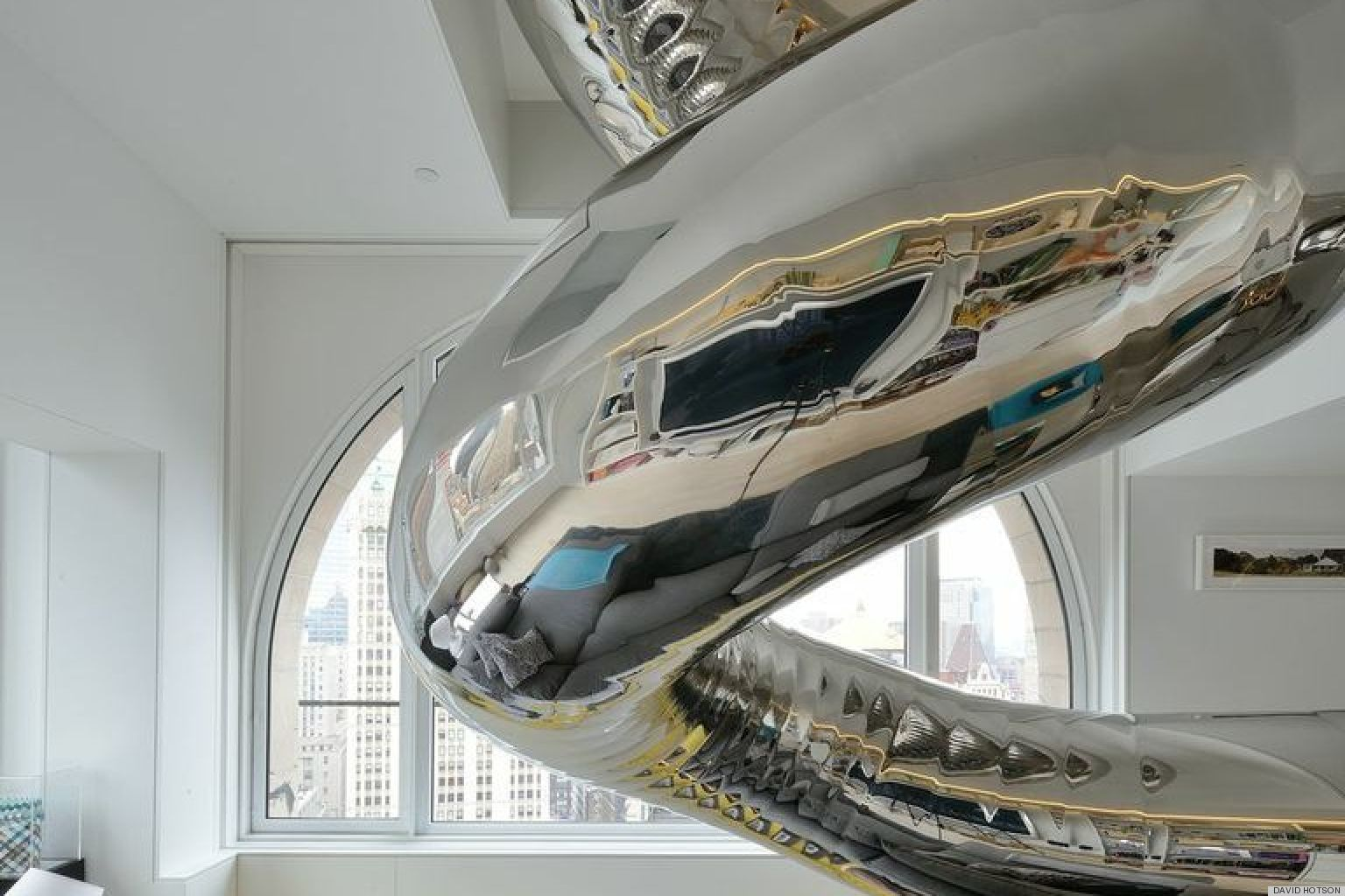 Manhattan Skyhouse Apartment Includes Indoor Slide Glass