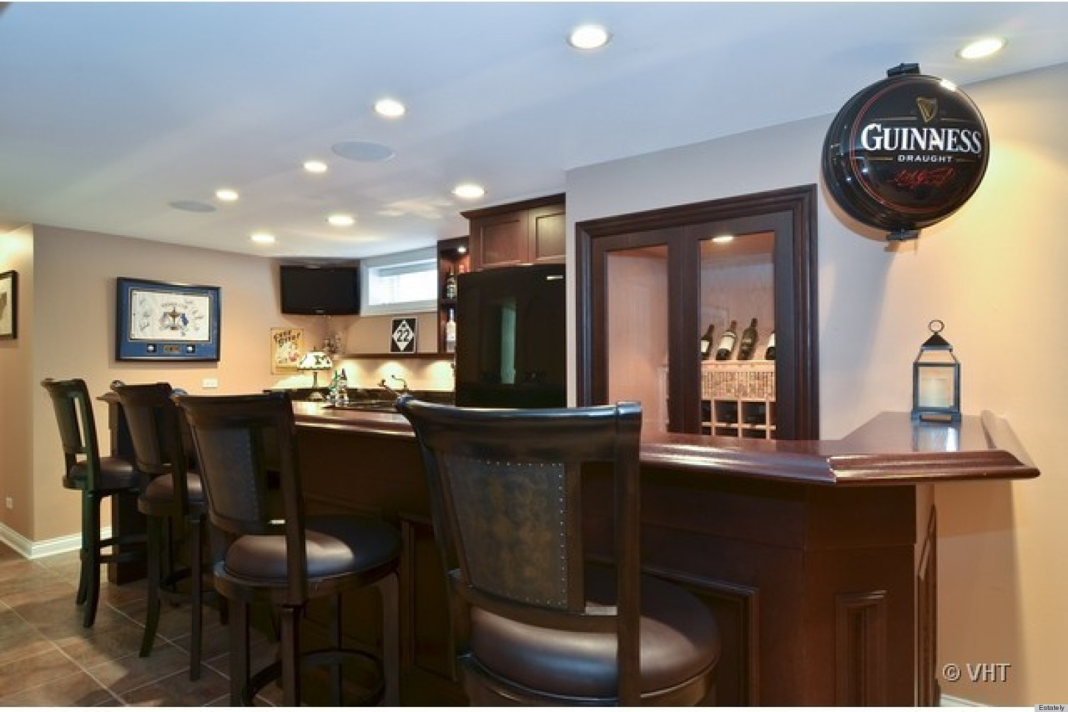 21 Homes for Sale With Bars Worthy of St. Patrick\'s Day | HuffPost