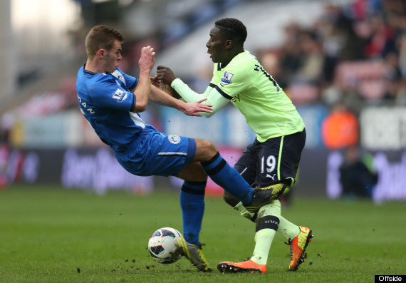 callum mcmanaman massadio haidara tackle