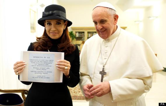 pope kirchner falklands