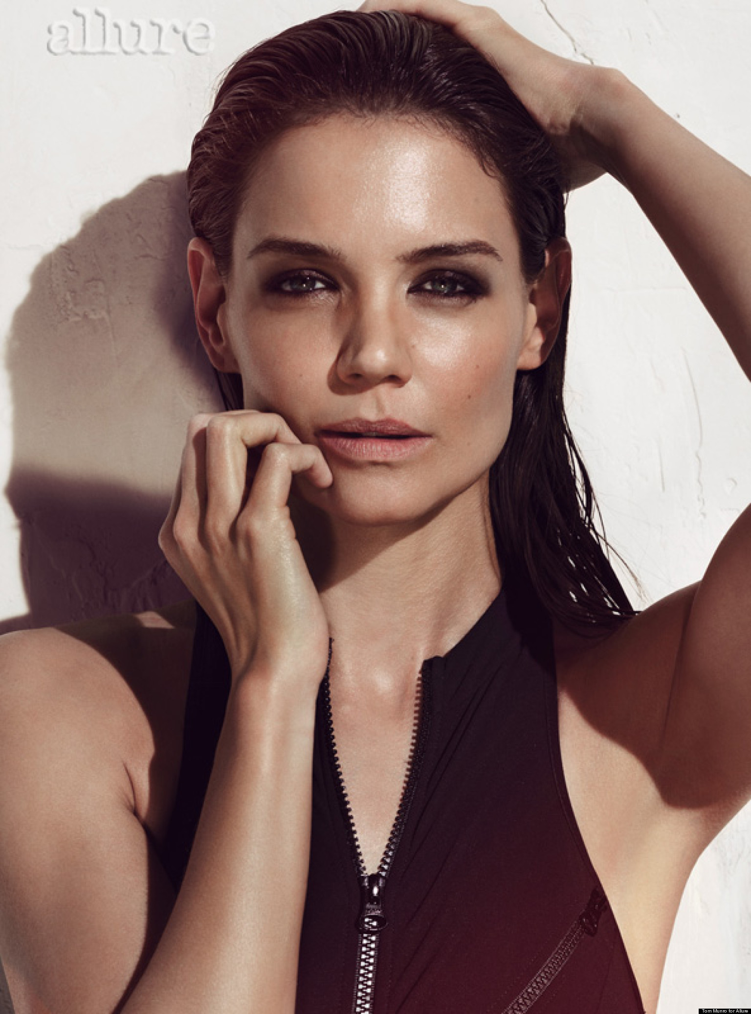 Katie Holmes Hot On Allure Cover, Talks Having More Kids And ...