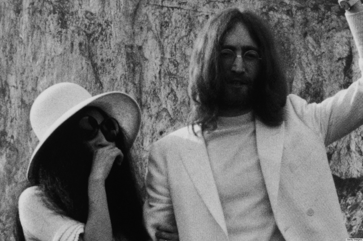John Lennon And Yoko Ono Went For Unconventional Ensembles On Their Wedding Day Photo Huffpost