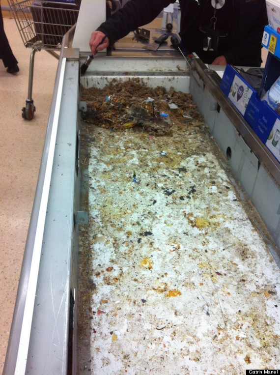 tesco conveyor belt