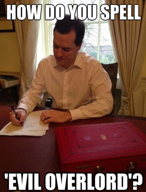 o GEORGE OSBORNE 570?3 george osborne's first twitter photo gets photoshopped, becomes a