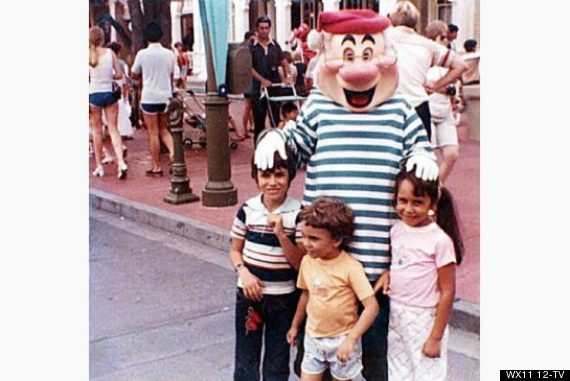 disney world photo captures couple years before th