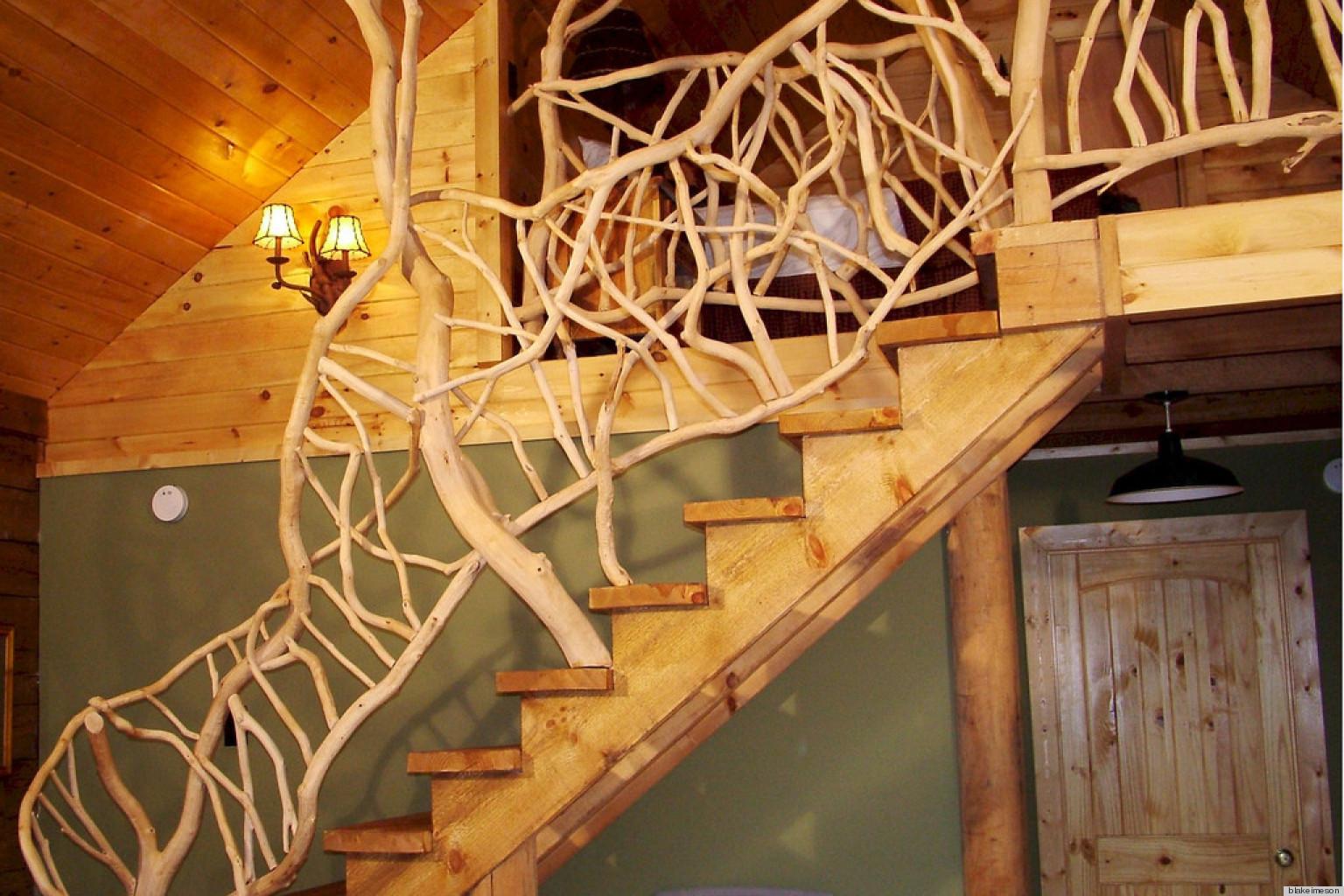 Лестницы дерево своими руками