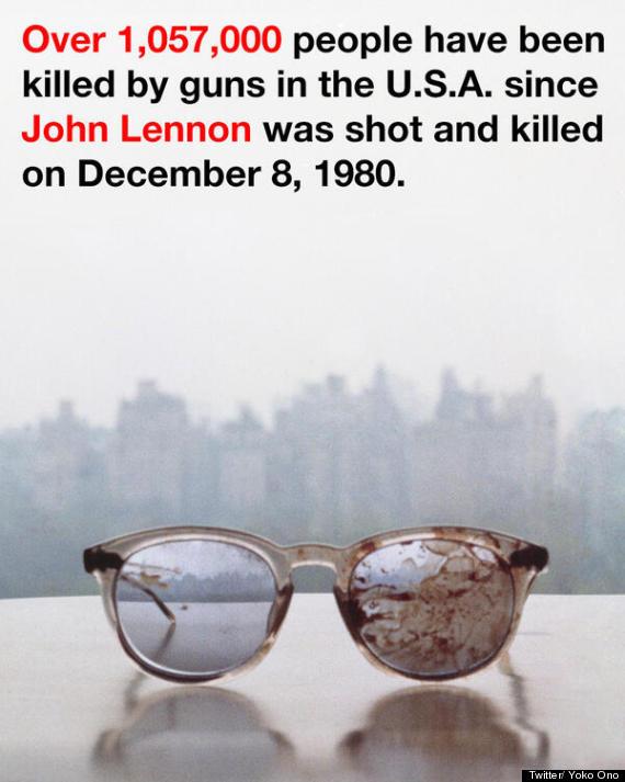 john lennon bloodstained glasses