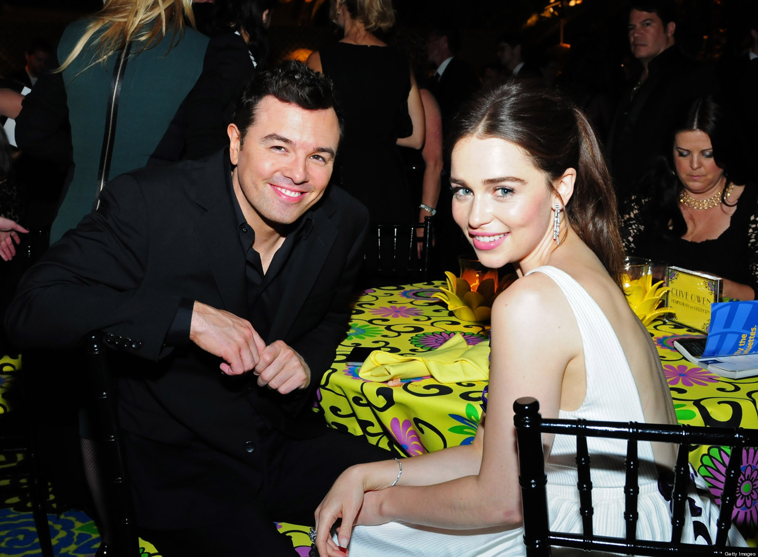 Seth MacFarlane Splits From Emilia Clarke: Comedian And ...