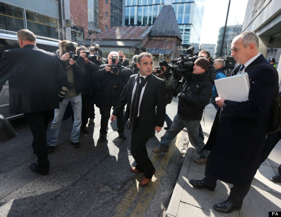 michael le vell leaves court