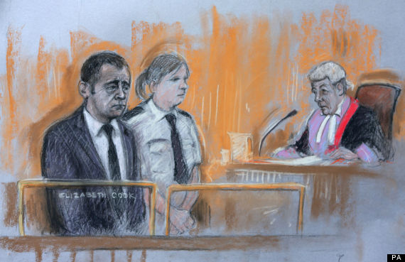 michael le vell court drawing