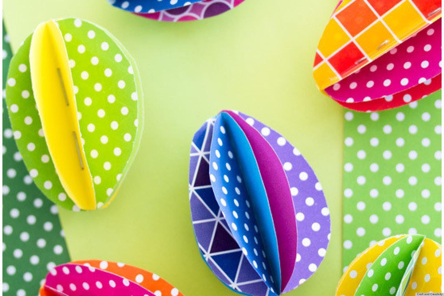 Для яиц на пасху своими руками из бумаги