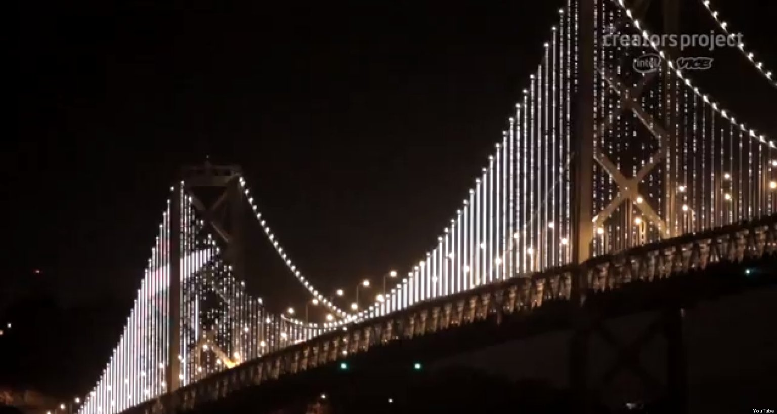 Leo Villarealu0027s U0027The Bay Lightsu0027 Documentary: U002725,000 LEDs Illuminate The San  Francisco Bay Bridgeu0027 Tells The Story Behind The Massive Light Installation  | ...