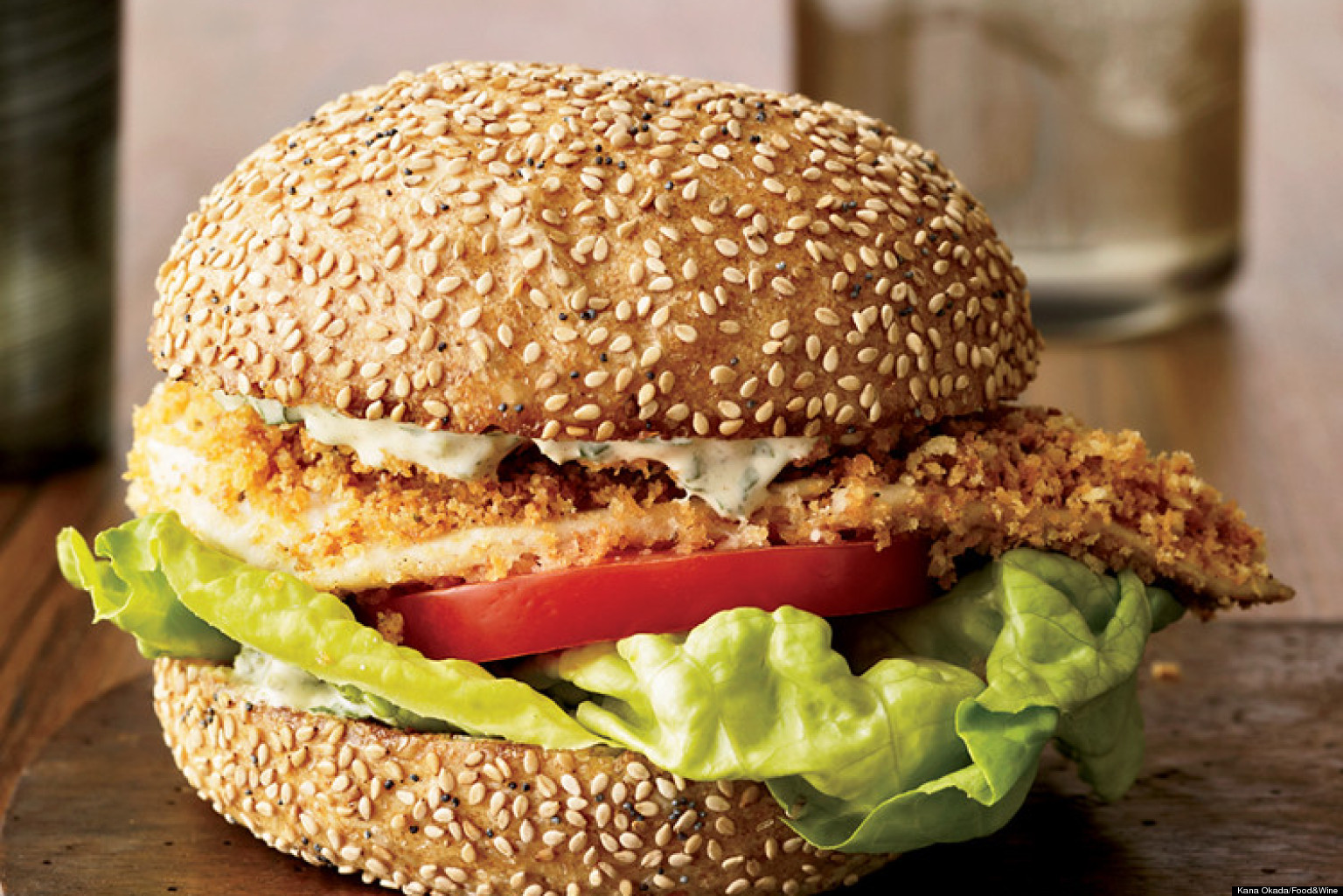 Recipe of the day fish sandwich huffpost for Fish sandwich recipe