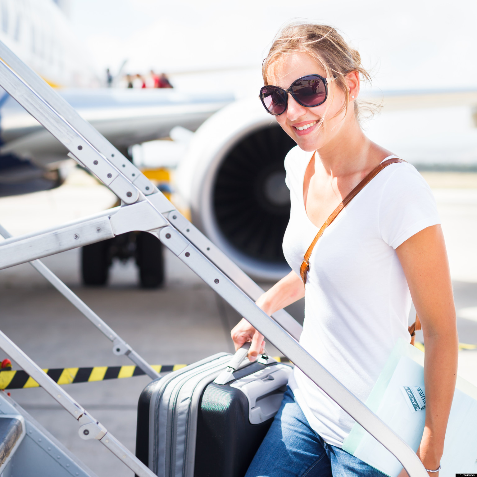Seven Things You Should Always Wear On A Plane Huffpost