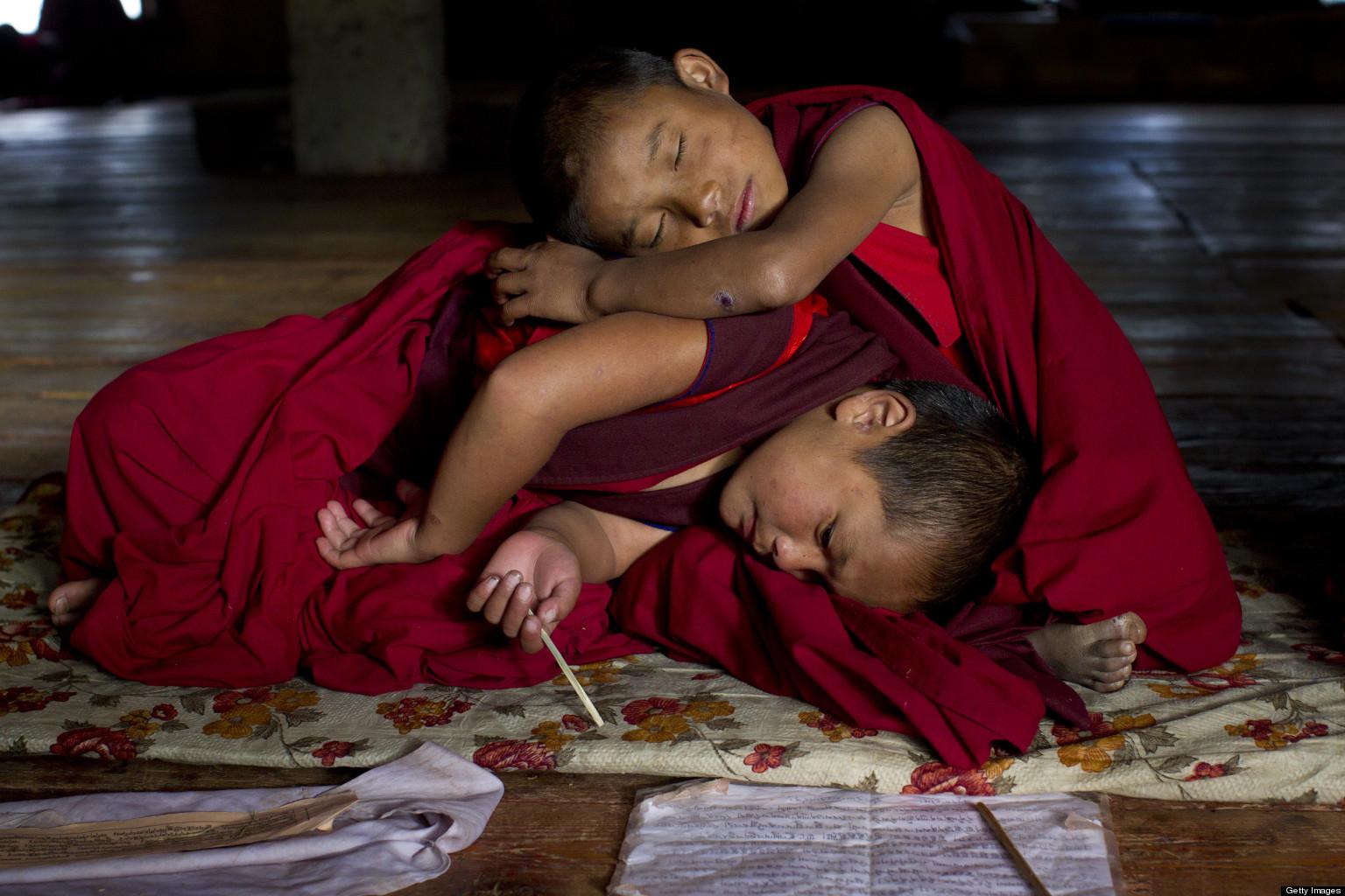 Monk Having Sex