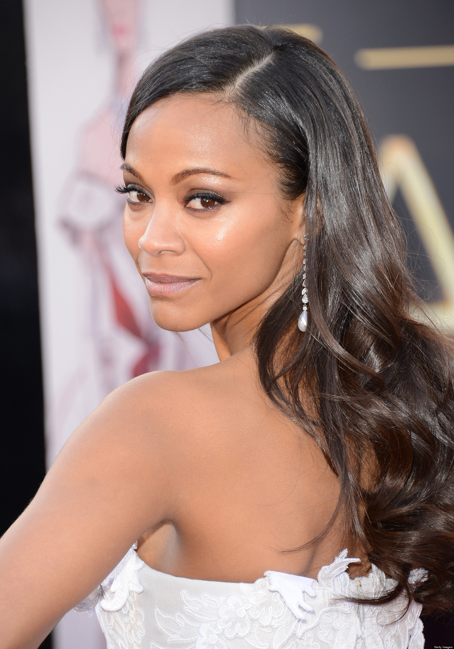 Zoe saldana considers chopping off her hair huffpost for 34 wedding dresses that should have never existed