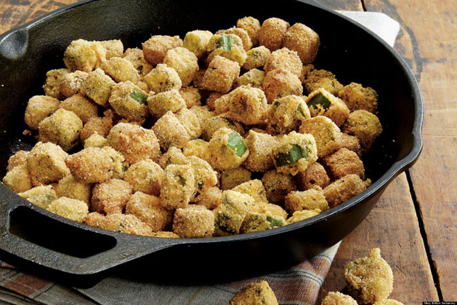Recipe Of The Day Fried Okra Huffpost