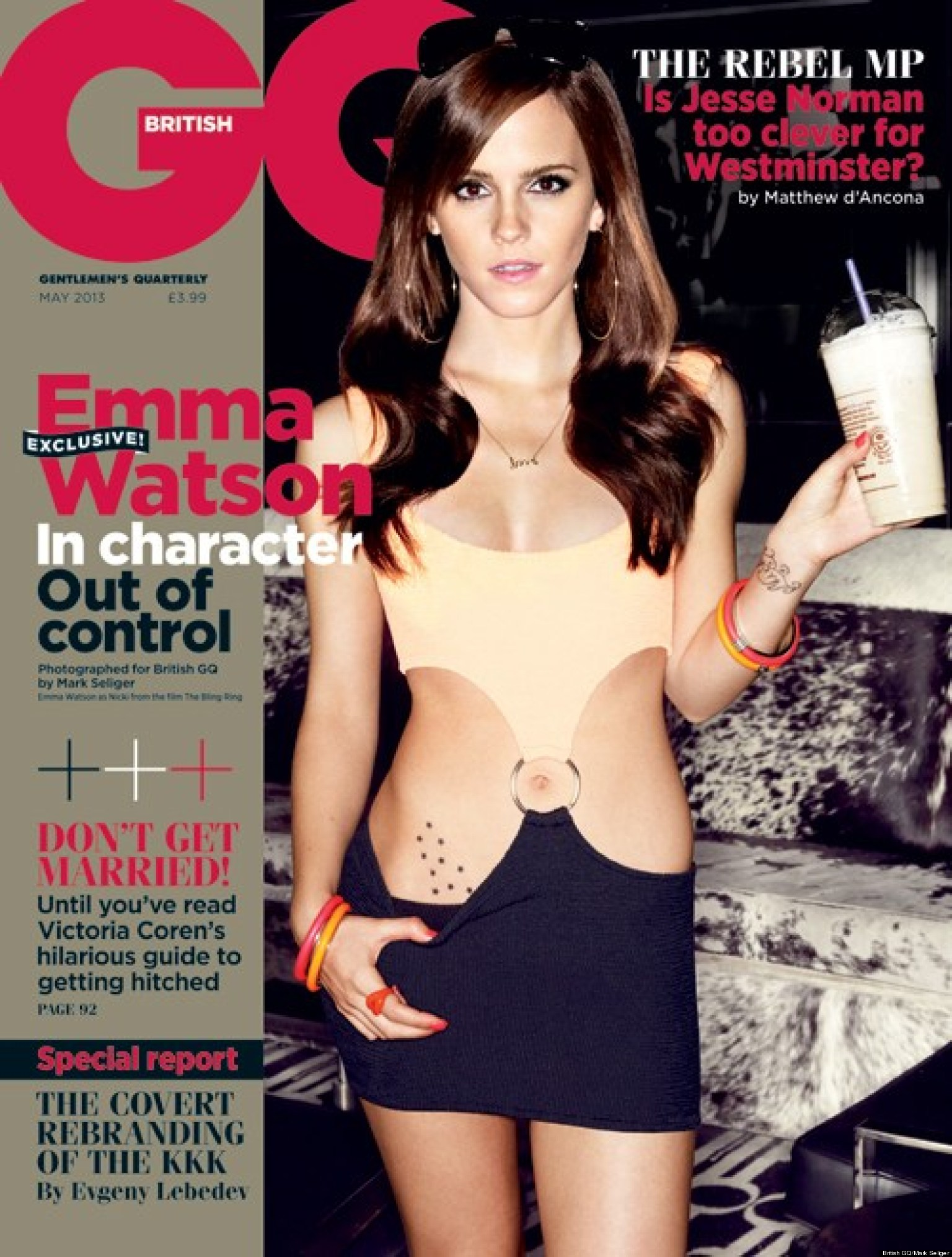 emma watson british gq cover is actress' sexiest yet (photo) | huffpost