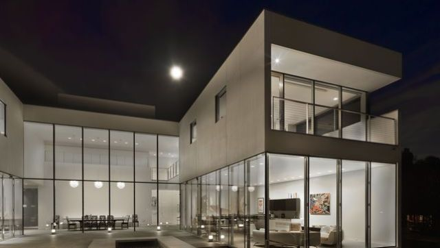 hinsdale modern mansion minimal suburban luxury hits the market at 95 million photos - Modern Mansions Interior