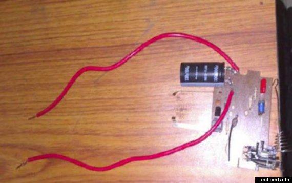 anti rape underwear circuit board
