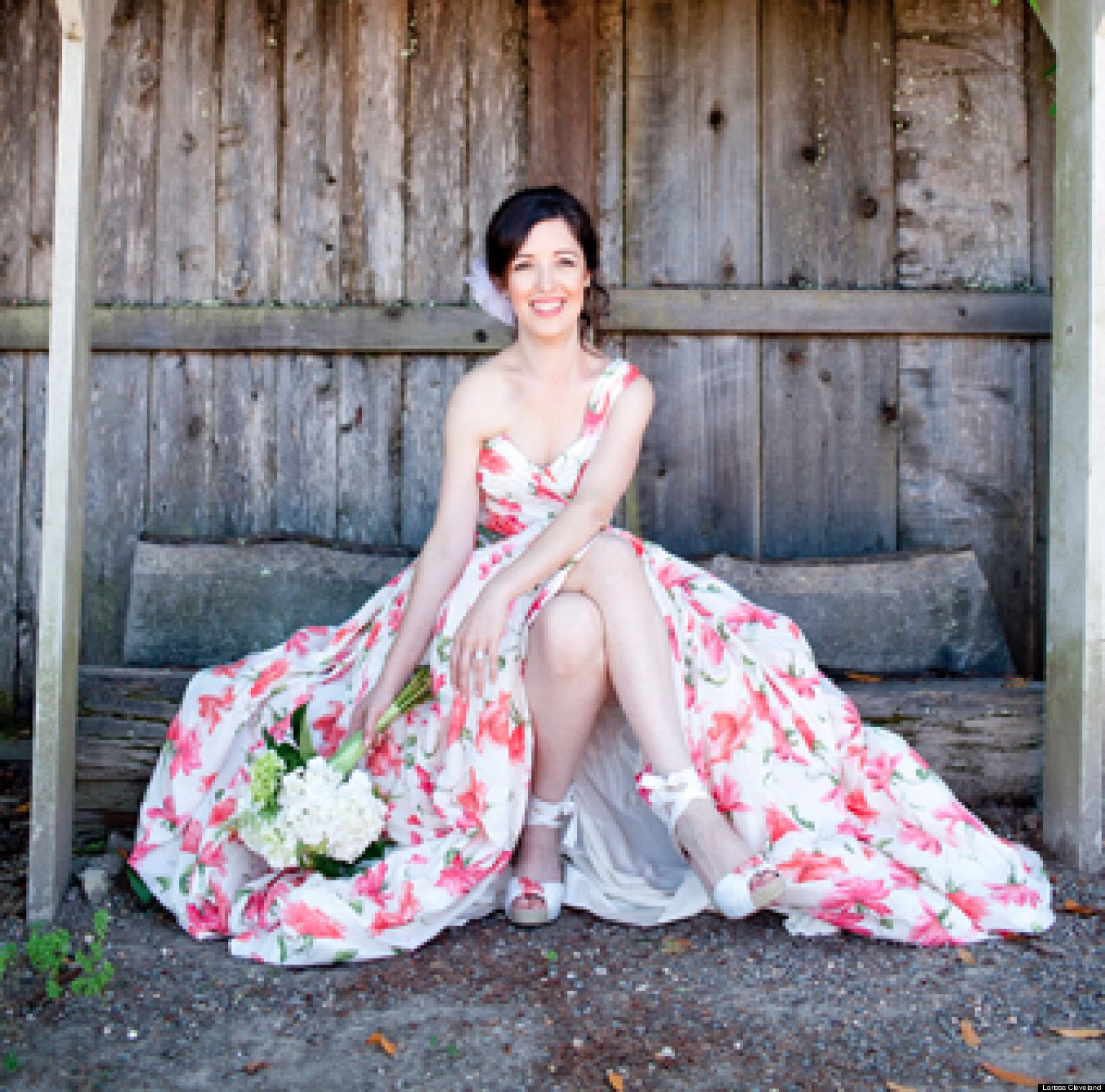 Offbeat On Trend The Non White Wedding Gown