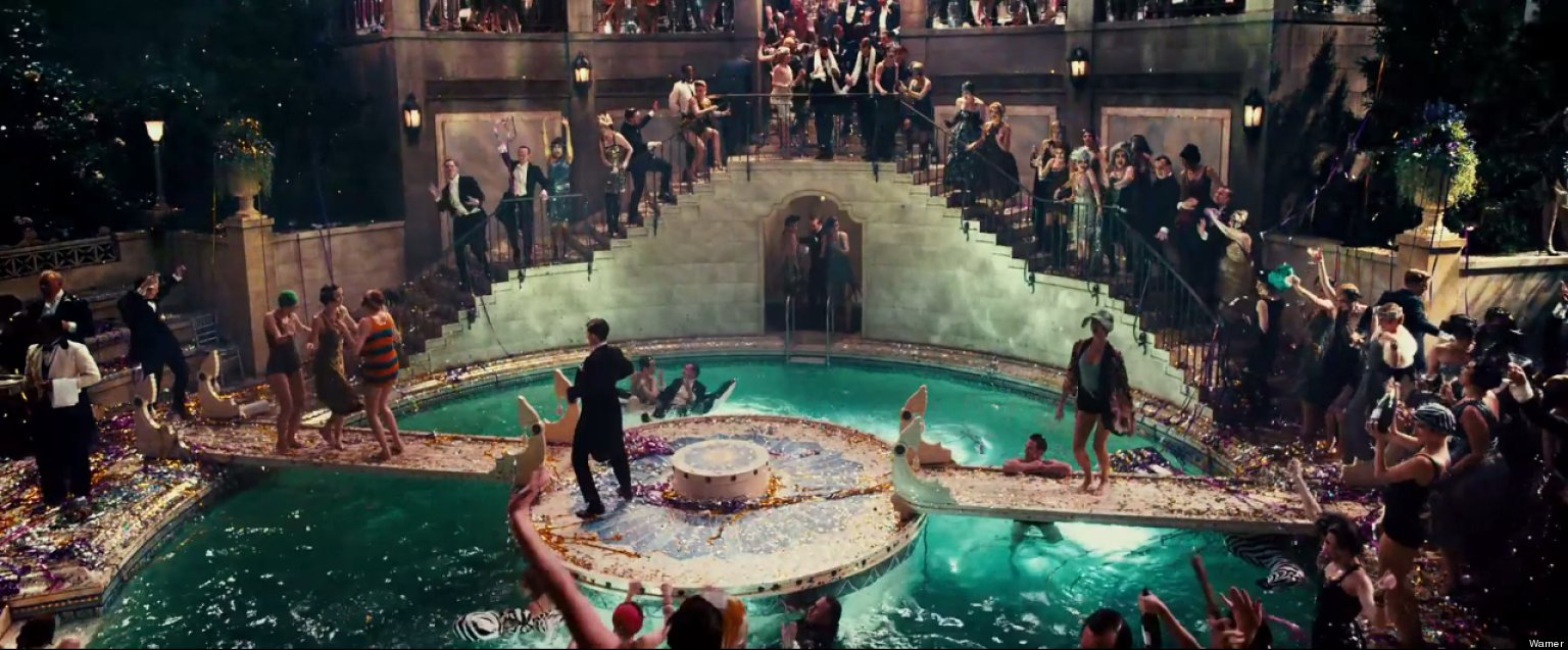 new great gatsby trailer features unseen footage green light beyonce florence huffpost - House From The Great Gatsby
