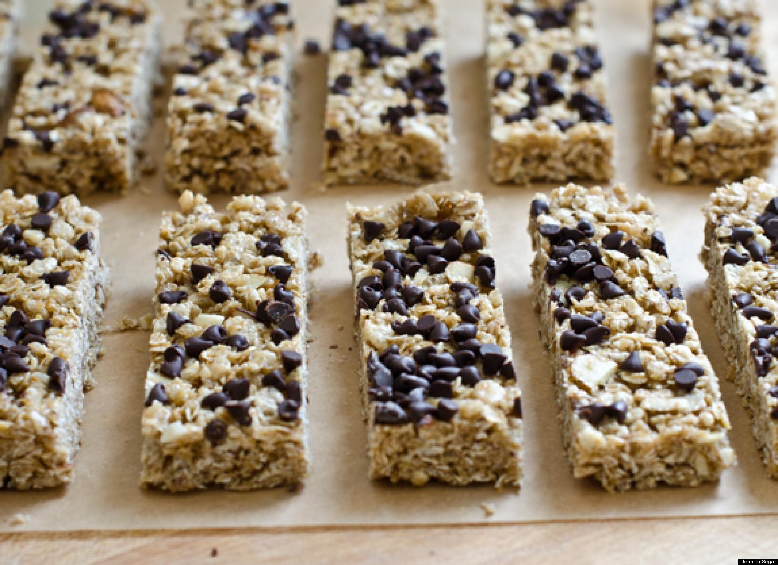 Homemade granola bars for hungry kids huffpost