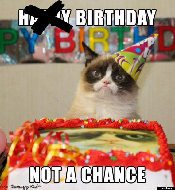 Happy birthday grumpy cat pictures tard grumpy cat birthday bookmarktalkfo Image collections