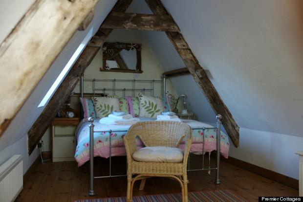 hope cottage bedroom