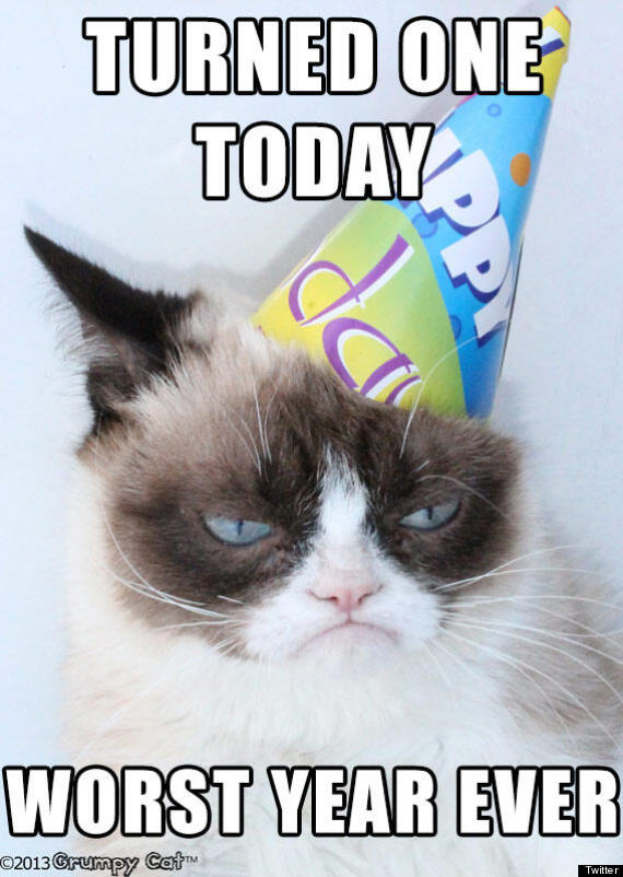Happy birthday grumpy cat pictures grumpy cat birthday bookmarktalkfo Image collections
