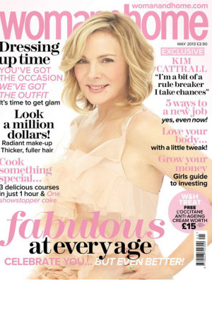 kim cattrall woman and home