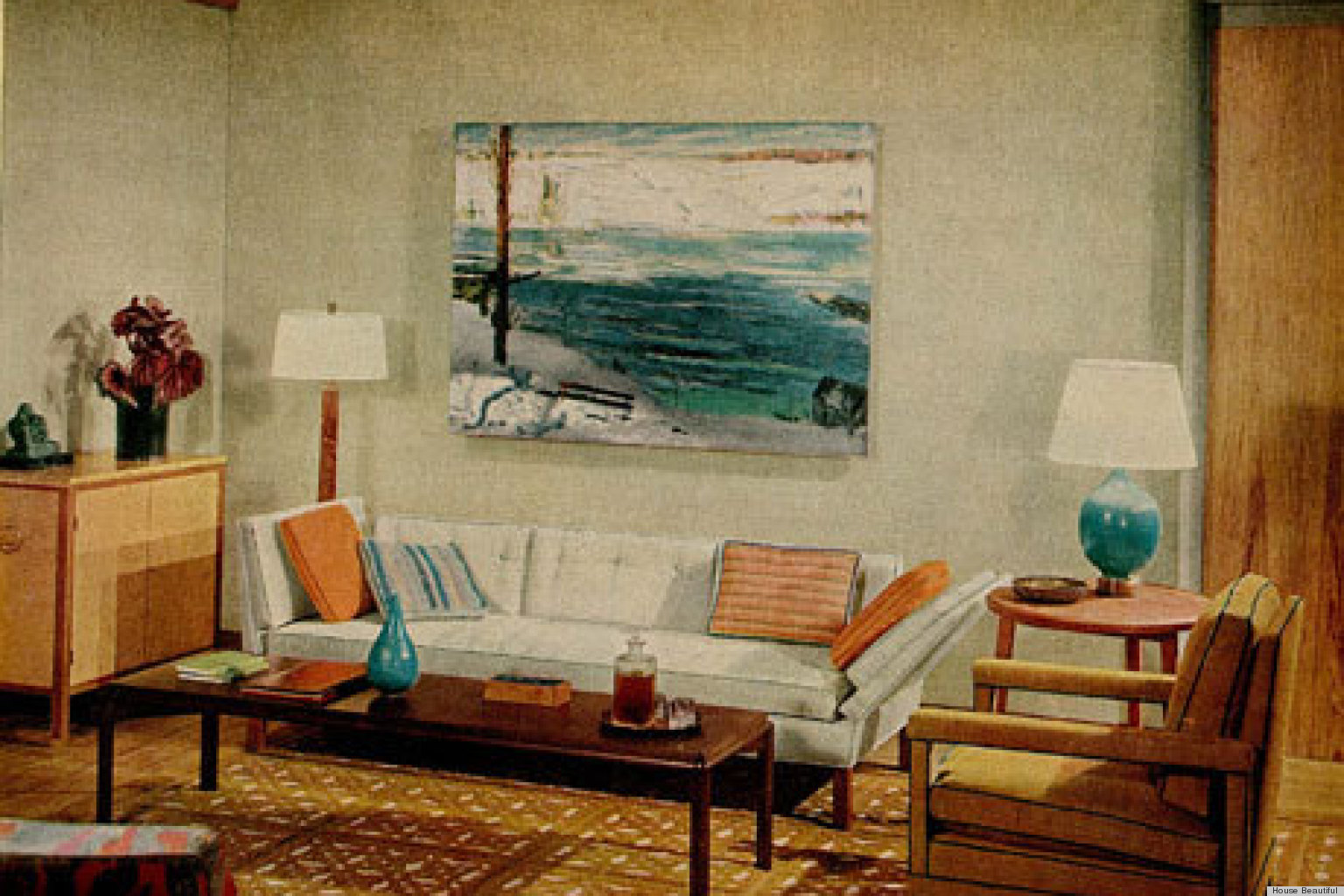 1960S Interior Design 1960S Interiors Inspired'mad Men' From House Beautiful