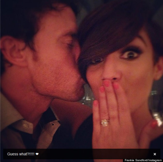 frankie sandford wayne bridge engaged